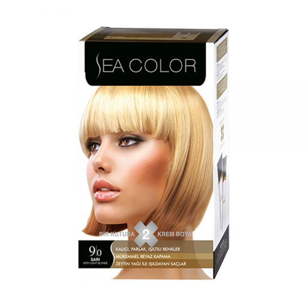 Sea Color Haar verf Sari 9/0