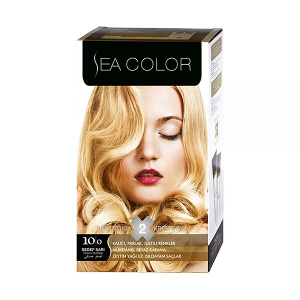 Sea Color Haar verf Sedef Sari 10/0